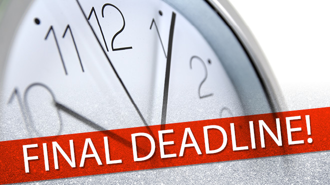 Final Deadline Is Next Week June 26 For 2015 Calgary