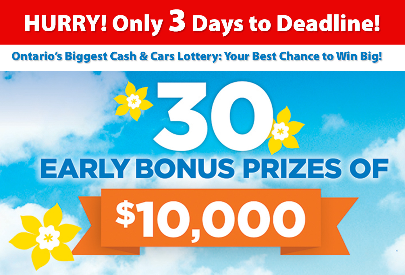 Cash And Cars Lottery Home