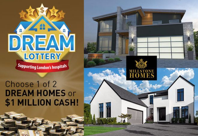 The home lottery news fresh news about charitable for Dream homes ontario